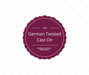 Knitting Tutorial: German Twisted Cast On by http://kniterations.ca
