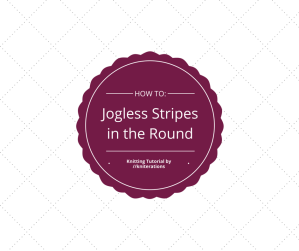 Knitting Tutorial: Working Jogless Stripes in the Round by http://kniterations.ca