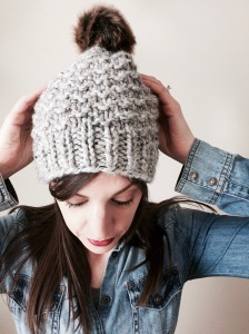 SLUSH hat pattern by Allison O'Mahony @http://kniterations.ca