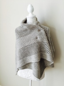 CORNER BROOK shawl pattern by Allison O'Mahony @http://kniterations.ca
