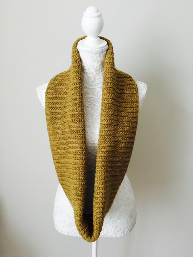 BIRCHY LAKE cowl knitting pattern by Allison O'Mahony @kniterations.ca